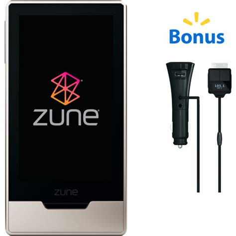zune chargers zune car charger and player