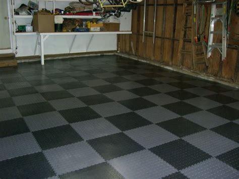 Black And Grey Floor Tiles by Garage Floor Tiles Garage Flooring Armorgarage