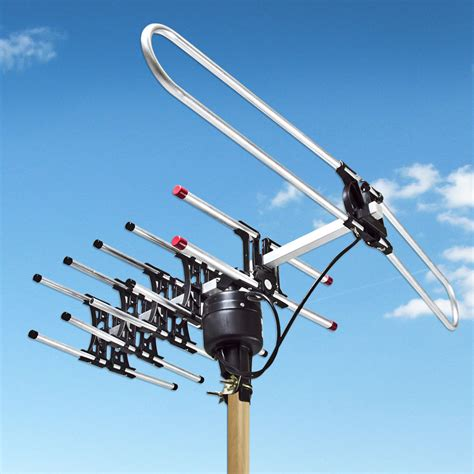 lified digital 1080p outdoor hdtv hd rotor tv antenna remote 360 rotation uhf ebay