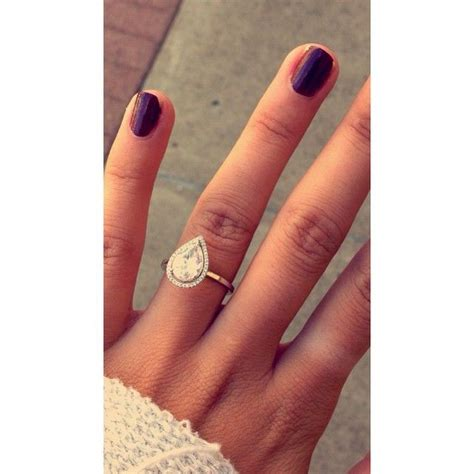 Wedding Rings Pear Shaped by Best 25 Pear Engagement Rings Ideas On Pear