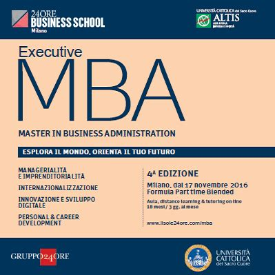 Executive Mba In Illinois by Executive Mba Part Time Master In Business