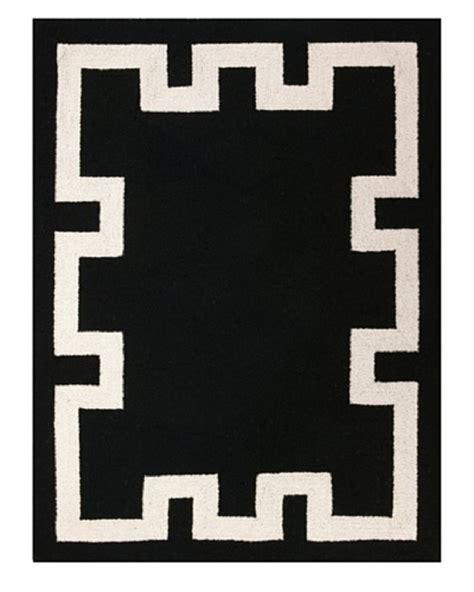 black and white key rug d l rhein houndstooth rug blue ownmodern