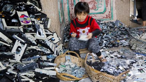 children electronic waste china a cadmium lining the economist