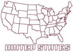 design a us map redwork continental united states map embroidery design