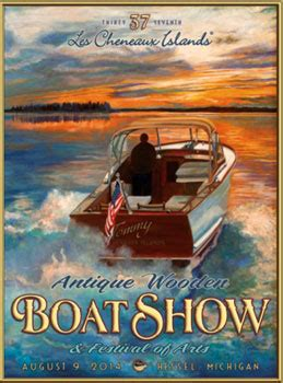 boat show in michigan trent severn antique classic boat association michigan