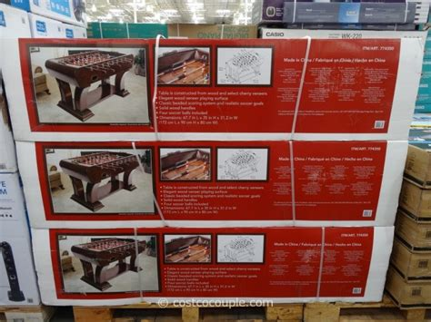 vintage foosball table costco foosball table