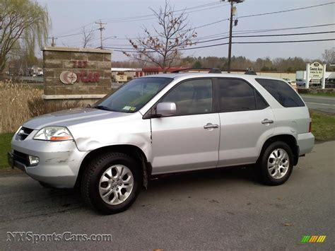2003 acura mdx touring 2003 acura mdx touring in starlight silver metallic
