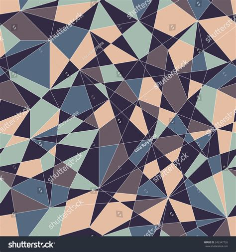 triangle mosaic pattern abstract mosaic pattern triangles seamless vector stock