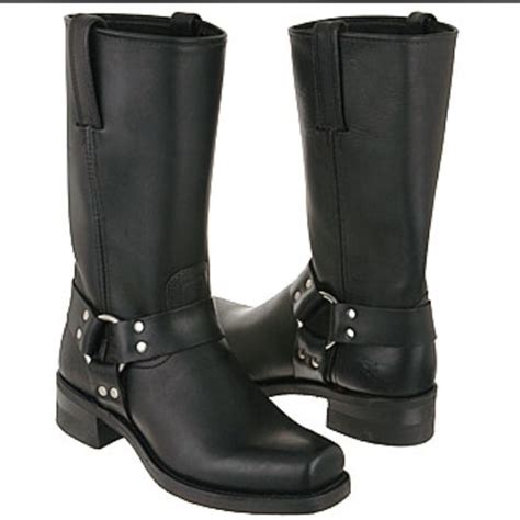 23 frye shoes frye black harness boots from nena s