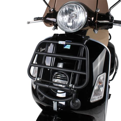 Vespa Luggage Ride On scooter front luggage rack black vespa gts scooterworks usa