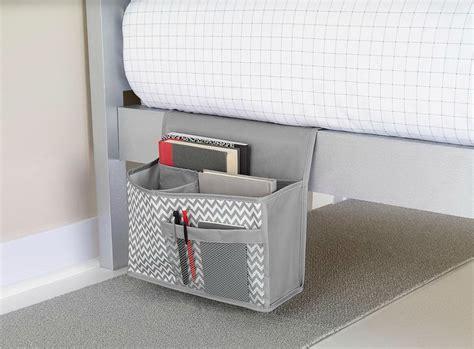 bett organizer bed pocket organizer pattern home design ideas