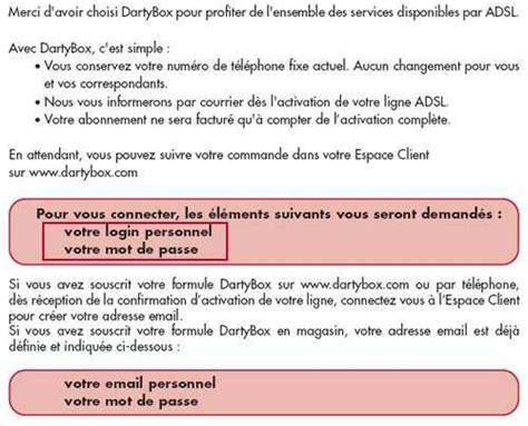 Lettre De Bienvenue Free Connaitre L Identifiant Et Le Mot De Passe Pour Acc 233 Der 224 Mon Espace Client