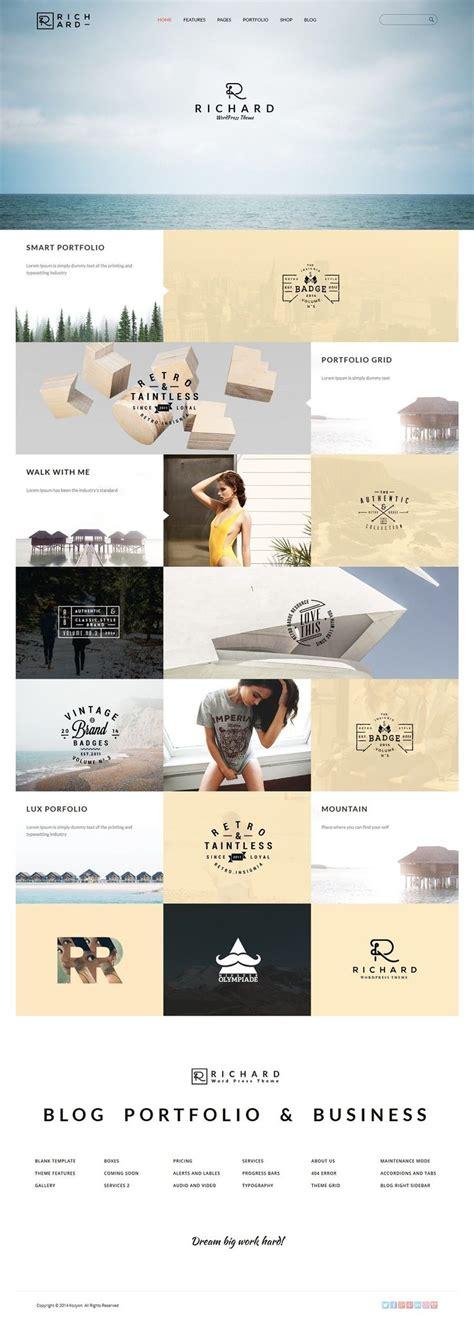 design inspiration wordpress richard creative wordpress themes web design inspiration