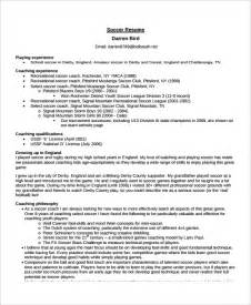 coaching resume templates coach resume template 6 free word pdf document