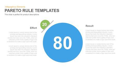 pareto principle 80 20 rule powerpointkeynote template