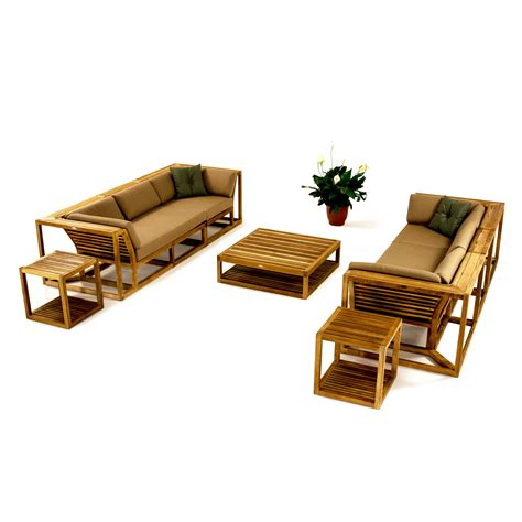 Teak Sectional Patio Furniture Teak Sectional Sofa Westminster Teak Outdoor Furniture