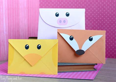 printable animal envelopes printable silly animals envelopes easy peasy and fun