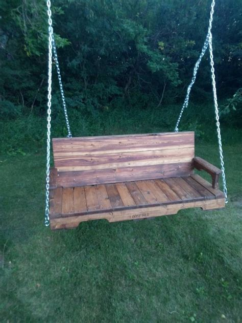 pallet porch swing breathtaking outdoor pallet ideas pallet ideas recycled