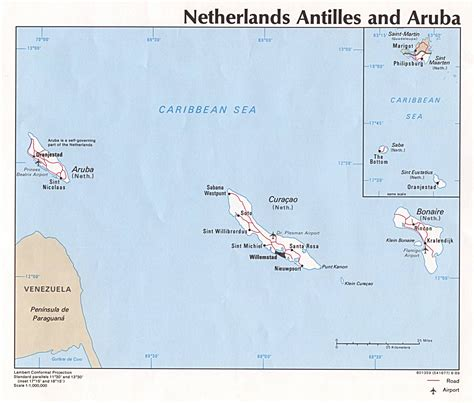 netherlands crime map nationmaster maps of aruba 2 in total