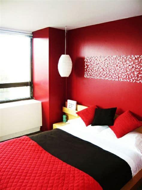 schlafzimmer rot schwarz farbgestaltung schlafzimmer passende farbideen f 252 r ihren