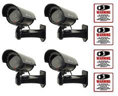 masione 4 pack outdoor sony ccd vision bullet