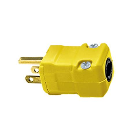 shop hubbell 15 125 volt yellow 3 wire at lowes
