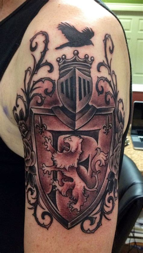 very nice family crest tattoo tattoos i like pinterest