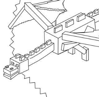 coloring pages of ender dragon minecraft ender dragon coloring page free coloring pages