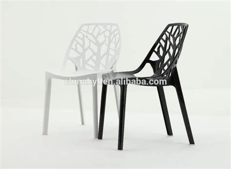 Modern Outdoor Chaise Design Moderne Chaise En Plastique Cristal Acrylique