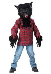 Werewolf Costumes Child Black Werewolf Costume