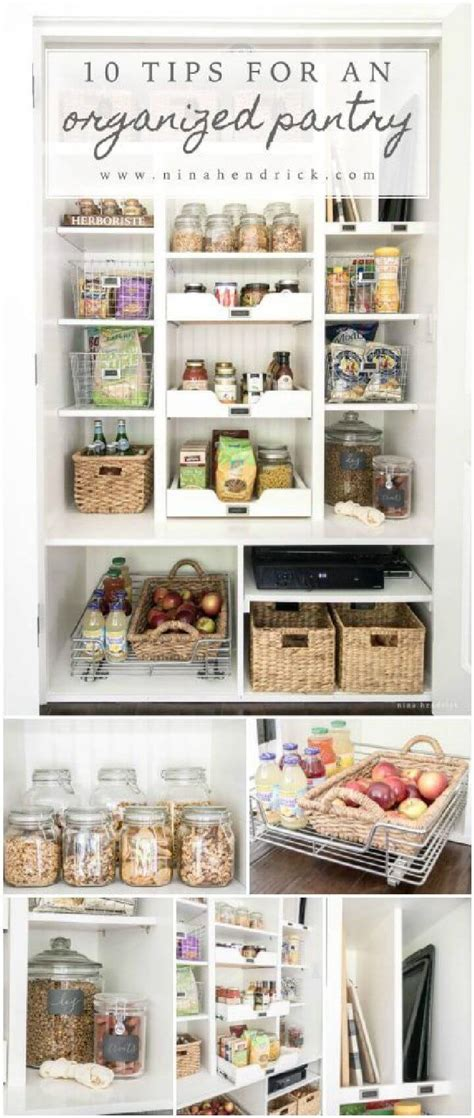 diy how to perfectly organize your pantry diy crafts mom 60 best pantry organization ideas diy page 4 of 12