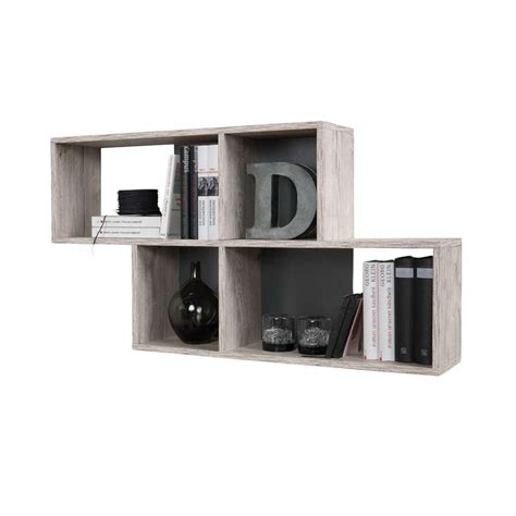 Etagere Murale Gris Anthracite by Etag 232 Re Murale Nora Couleur Ch 234 Ne Anthracite