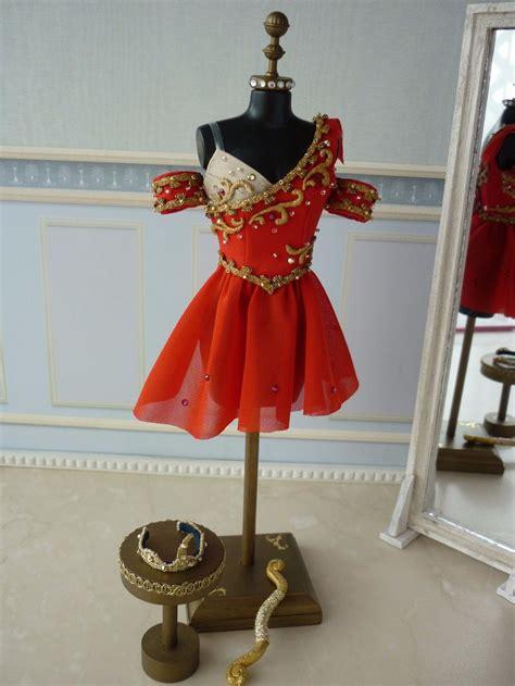 Handmade Ballet Tutus - a miniature tutu handmade miniature ballet costume
