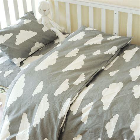 Muslinlife 3pcs Set Baby Crib Bedding Set Nursery Bedding Baby Crib Duvet