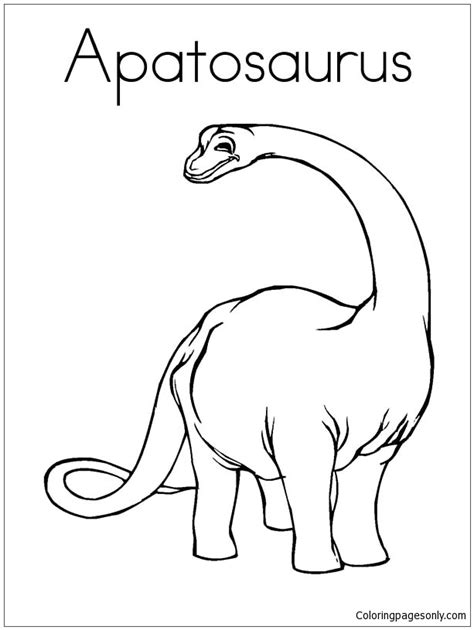 coloring pages online com apatosaurus 2 coloring page free coloring pages online