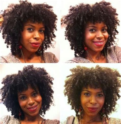 shapes of afros natural hair bangs kinky coily pinterest