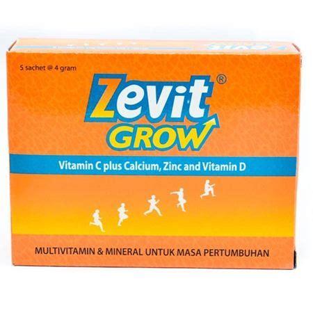 Vitamin Peninggi Badan Zevit Grow 10 merk vitamin peninggi badan yang bagus efektif