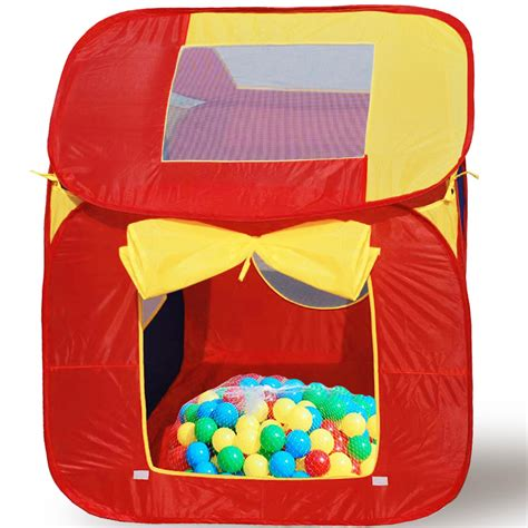 Pop Up 200 S childrens play tent play house with 200 balls