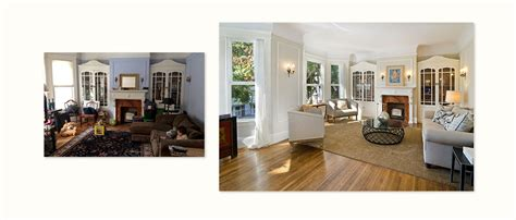 before and after staging julie jay home staging san francisco real estate home staging