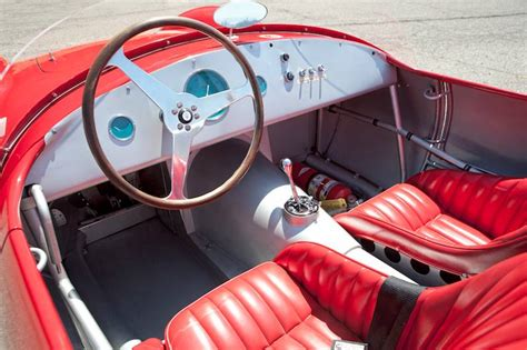 maserati a6gcs interior rm auctions monterey 2013 featured offerings