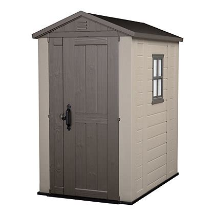 image for keter plastic factor apex shed 6 x 4ft from