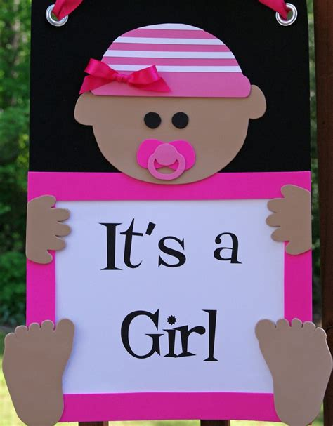 it s a door sign welcome baby baby shower