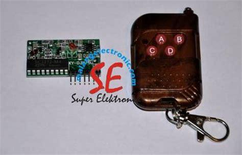 Jual Saklar Remote Murah jual remote transmitter receiver tx rx 4 channel remote pengendali murah malang electronic