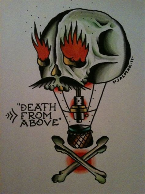 death from above tattoo from above classic tattoos