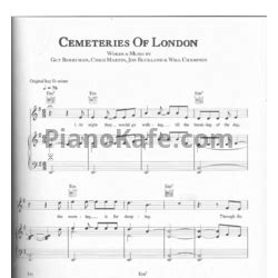 download mp3 coldplay cemeteries of london coldplay все ноты на pianokafe com