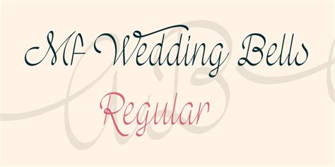 Wedding Font Use by Mf Wedding Bells Font 183 1001 Fonts