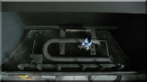 Pilot Light Went Out On Gas Fireplace by Custom Burners Propane Gas Fireplace Glass