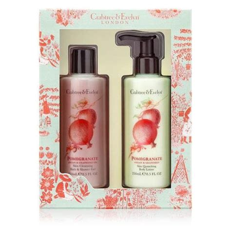 Gifts Home And Personal Care Gifts From Crabtree Crabtree Pomegranate Care Gift Set
