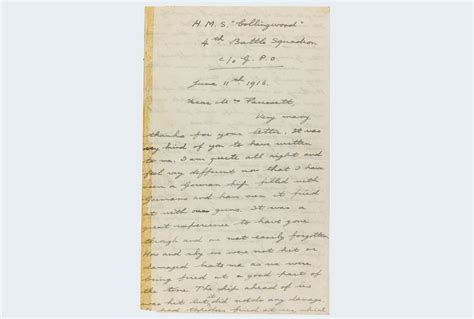 royal letters shed light on navy s greatest 20th century