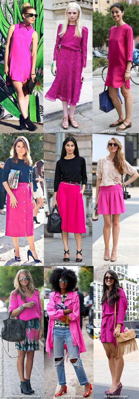 Is Pink This Year by How To Wear Neon Pink Blue Is In Fashion This Year